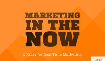 The 5 Rules of Real–Time Marketing